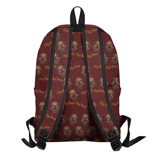 Рюкзак Бигбэнг цветочный череп