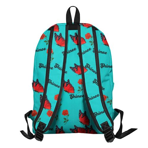 Рюкзак Shinee бабочка и красная роза